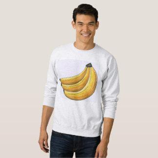 Yellow Bunch of Bananas Food Banana Sweatshirt