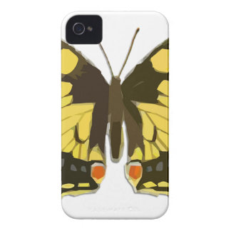 Yellow Butterfly Case-Mate iPhone 4 Case
