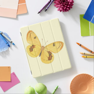Yellow Butterfly - Fine Art iPad Cover