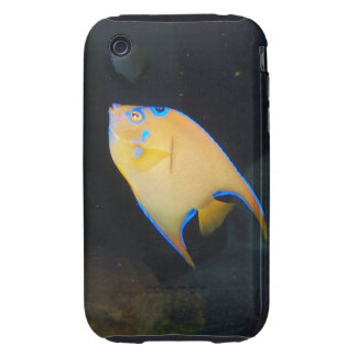 Yellow Butterfly Fish iPhone Case Tough iPhone 3 Case
