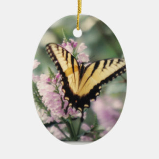 Yellow Butterfly Ornament