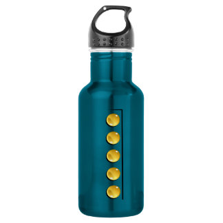 Yellow Buttons 532 Ml Water Bottle