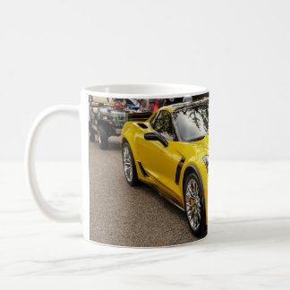 Yellow C7 z07 Package Chevrolet Corvette Coffee Mug