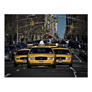 Yellow Cab Charge Postcard