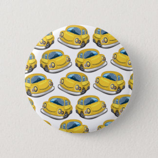 Yellow Cab Taxi 6 Cm Round Badge