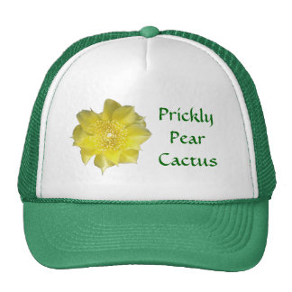 Yellow Cactus Prickly Pear Flower Cap
