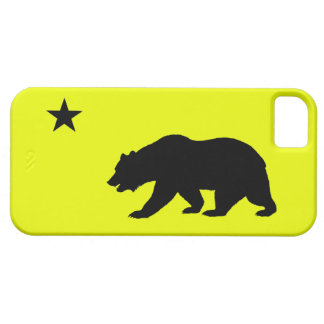 Yellow California iPhone 5 Case