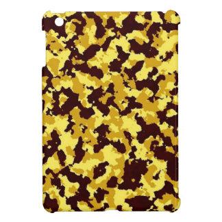 Yellow Camouflage iPad Mini Cases