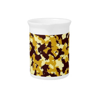 Yellow Camouflage Pitcher