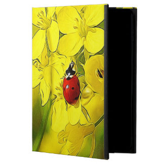 Yellow Canola Flower Good Luck Red Ladybug Powis iPad Air 2 Case