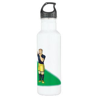 Yellow Card 710 Ml Water Bottle