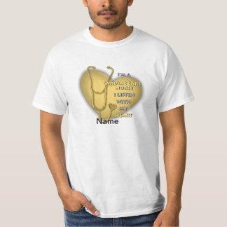 Yellow Cardiac Care Nurse T-Shirt