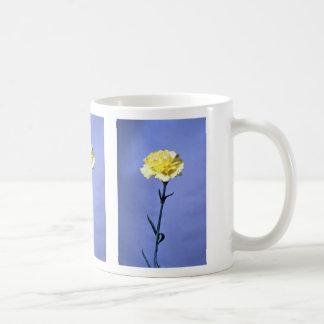 Yellow carnation mugs