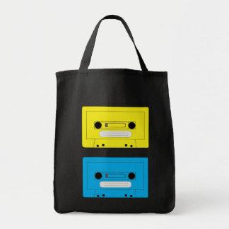 yellow casette copy, blue casette
