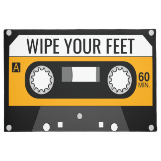 Yellow Cassette Doormat