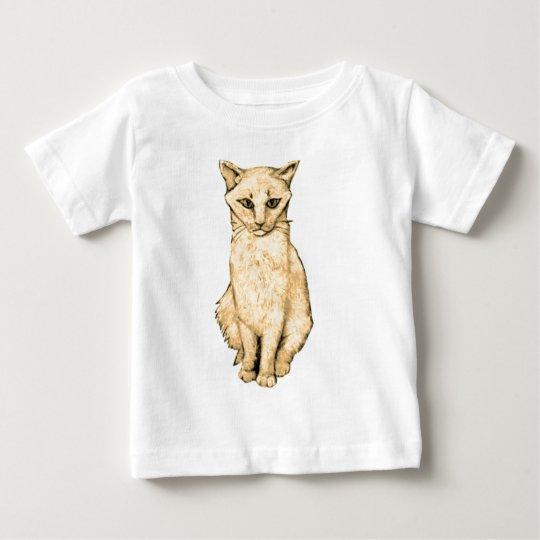 Yellow Cat Baby T-Shirt