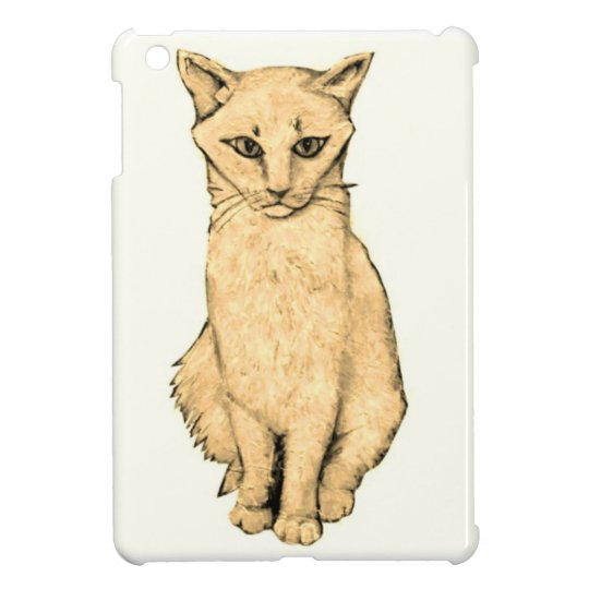 Yellow Cat Cover For The iPad Mini