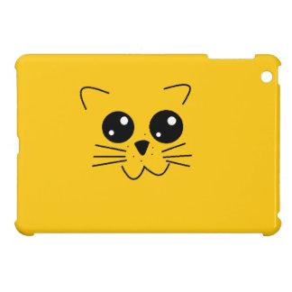 Yellow Cat Face Ipad Case Case For The iPad Mini
