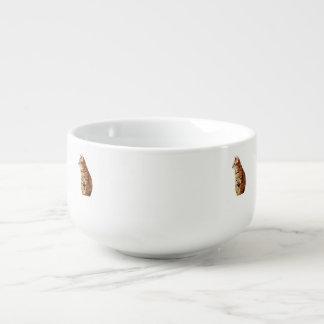 Yellow Cat Soup Mug