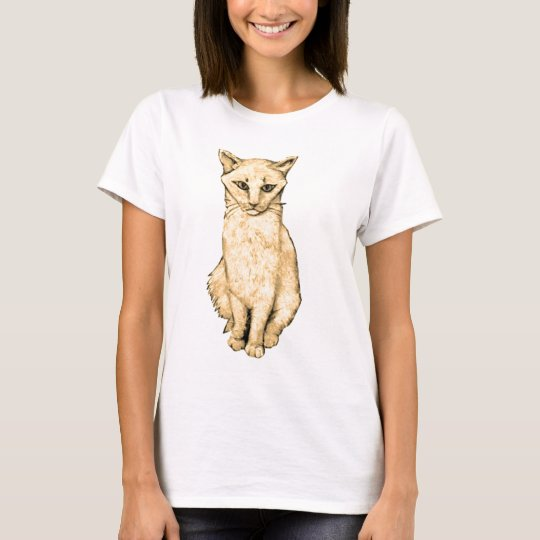 Yellow Cat T-Shirt