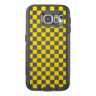 Yellow Checkerboard OtterBox Samsung Galaxy S6 Case