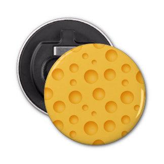 Yellow Cheese Pattern Bottle Opener