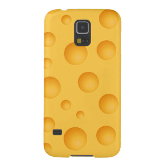 Yellow Cheese Pattern Case For Galaxy S5