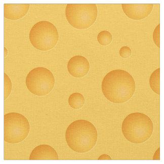 Yellow Cheese Pattern Fabric