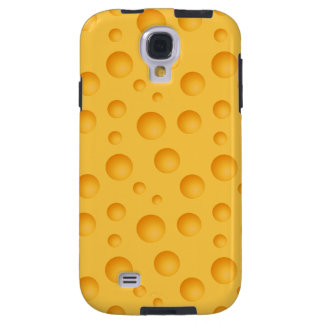 Yellow Cheese Pattern Galaxy S4 Case