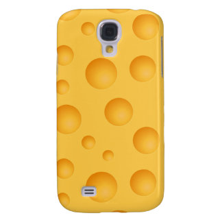 Yellow Cheese Pattern Galaxy S4 Cases