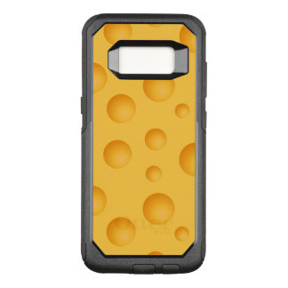 Yellow Cheese Pattern OtterBox Commuter Samsung Galaxy S8 Case