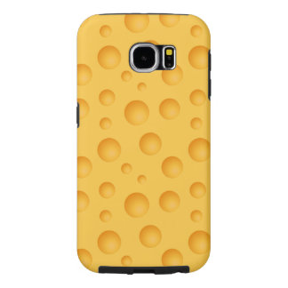 Yellow Cheese Pattern Samsung Galaxy S6 Cases