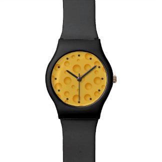 Yellow Cheese Pattern Watch