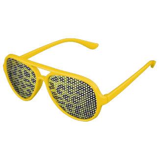 Yellow Cheetah Sunglasses