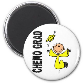 Yellow CHEMO GRAD 1 Sarcoma Refrigerator Magnet
