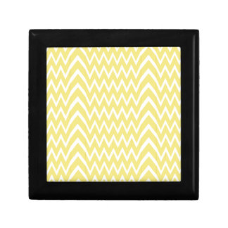 Yellow Chevron Illusion Gift Box