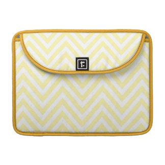 Yellow Chevron Sleeve for Macbook Pro