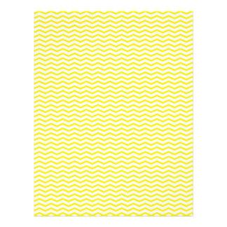 Yellow Chevron/Zig Zag Scrapbook Paper