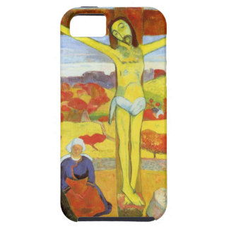 Yellow Christ 1889 Tough iPhone 5 Case