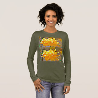 Yellow Chromatic Rose Women's Tee