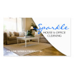 Yellow Clean House Home Cleaning Cleaners Business Pack Of Standard Business Cards