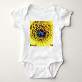 Yellow Closeup Baby Bodysuit