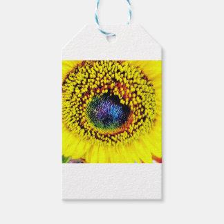 Yellow Closeup Gift Tags