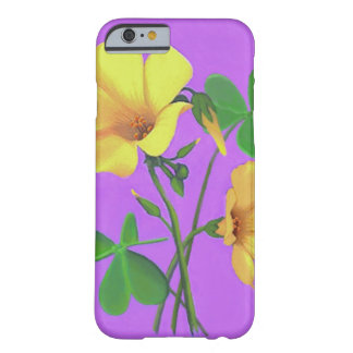 Yellow Clover Flower Barely There iPhone 6 Case