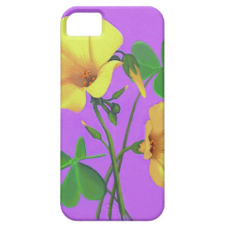 Yellow Clover Flower iPhone 5 Cases