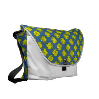 Yellow Clover Ribbon Courier Bags