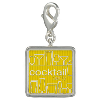 Yellow cocktail party