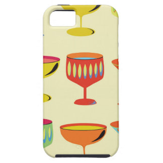 Yellow cocktail time case for the iPhone 5