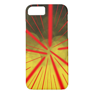 Yellow Complex Abstract1 - Apple iPhone Case