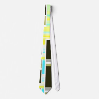 Yellow Composition Tie